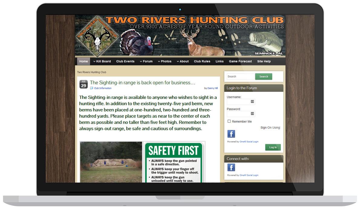 Hunting Club Websites Archives | Pensacola Web Designs